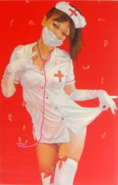中山ダイスケ ドローイング作品 「Delicate - 54」