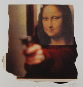 Mona Shot - Giclee Edition