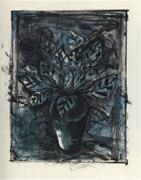 タジム・ダイン 版画作品 「エルサレムの植物 #8」