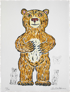 Bear (brown/Standing)「Arche」