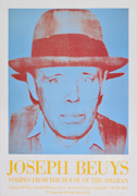 Joseph Beuys, Stripes from the house of the shaman (ポスター)