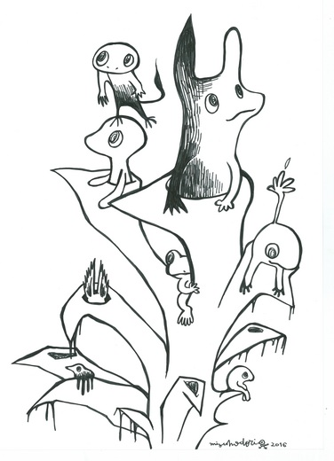 Untitled (drawing D)
