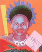 Queen Ntombi Twala of Swaziland