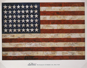 FLAG (THE MUSEUM OF MODERN ART POSTER)