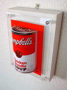 3D photo 「Campbell Chicken Noodle Red」