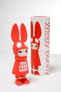 Windy Bunny Red / USE YOUR EARS