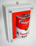 3D pictures Campbell Tomato Soup Red