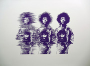 Jimi Hendrix/purple ED:1/1