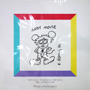 ANDY MOUSE (Phoenix Art Museum poster)