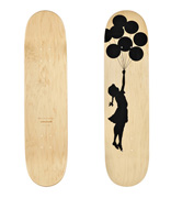 BALLOON GIRL (Skateboard Deck)