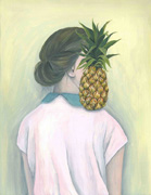 her through the pineapple