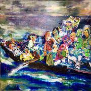 The Spectrum of light -Delacroix hommage-