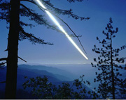 A Moon Trail, Trees, Cities, Yosemite National Park (M)