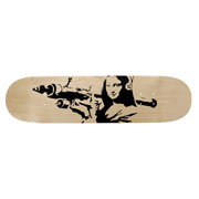 Mona Launcher (Skateboard Deck)