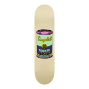Skate Deck (Colored Campbell's Soup Eggplant)
