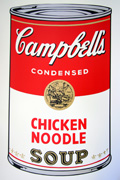 Soup Can Series I-45 Chicken Noodle (Sunday B. Morning)