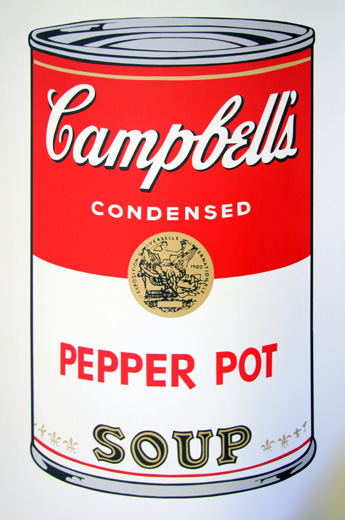 Soup Can Series I-51 Pepper Pot (Sunday B. Morning)