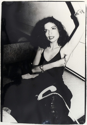 Bianca Jagger at Halston's House, New York