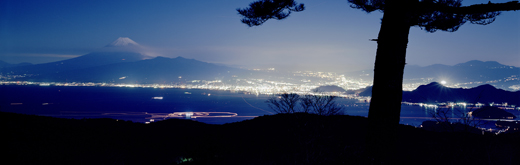 no. 120406 (Mt.Fuji, city and pine tree) SS
