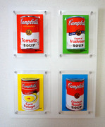 3D pictures 「Campbell Soup Set」