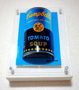 3D pictures Campbell Tomato Soup Art Series Blue