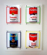 3D pictures New Campbell Soup Set