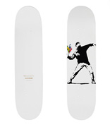 FLOWER BOMBER (Skateboard Deck)