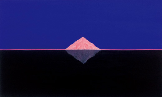Pink Mountain Black Sea