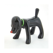 SHINNING DOGGY (black)