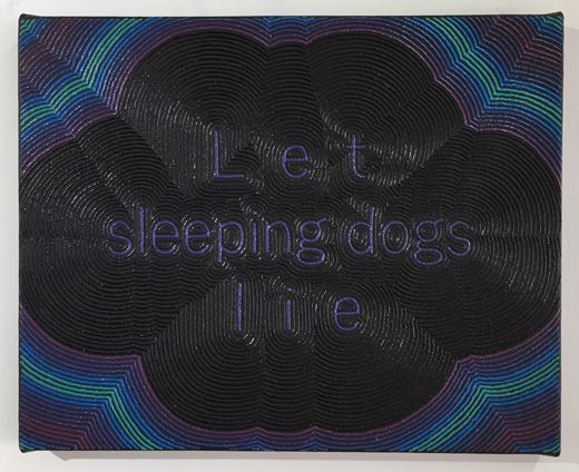 Letterscape_Let sleeping dogs lie